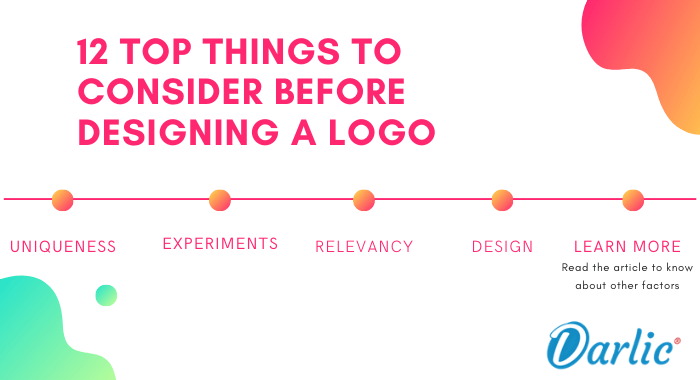 12 Top Things to Consider Before Designing a Logo-DARLIC-WEBSITE-BUILDER